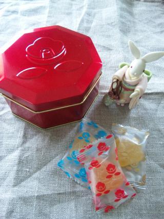 花椿 ジュレ缶 赤