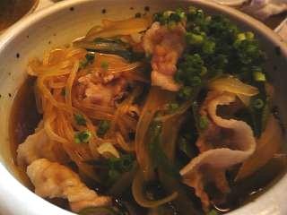 湯淺(肉豆腐)