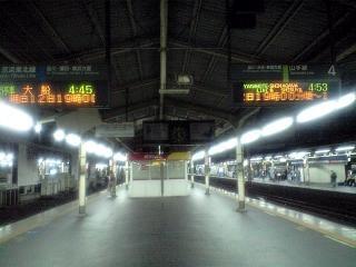 新橋駅(ホーム1)
