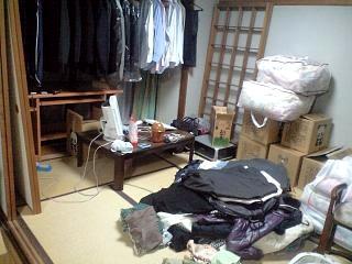 引っ越し前の部屋(その1)