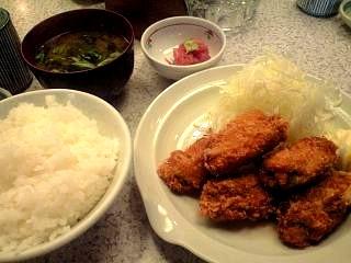 よ●郎(牡蠣フライ)