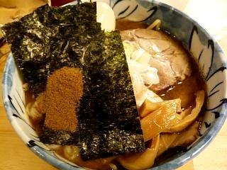 つけ麺然(特製ラーメン大盛り)