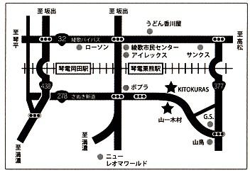 山一さん地図