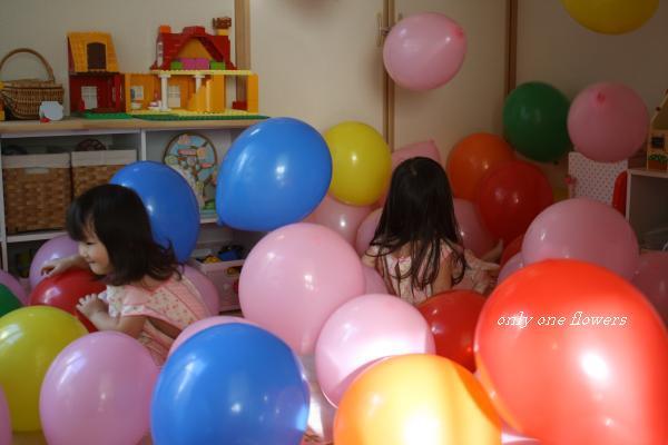風船の部屋☆