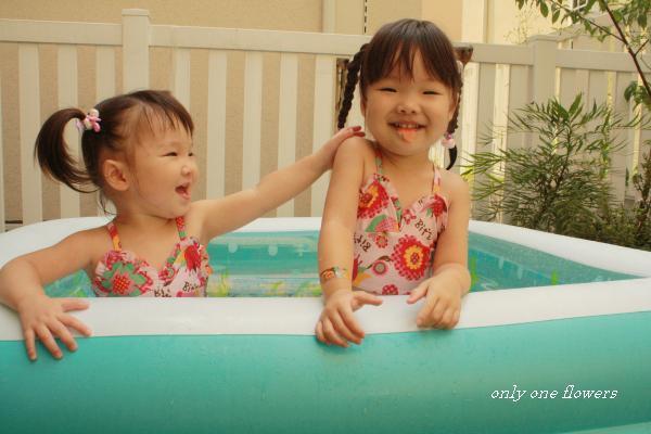 プール遊びはまた来年☆