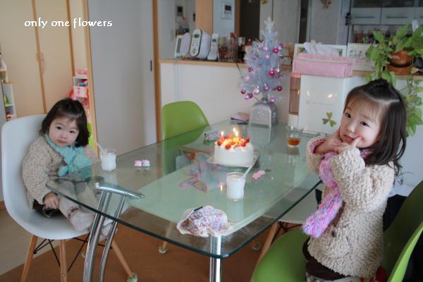 最近では ケーキが大好きな我が家の女子二名