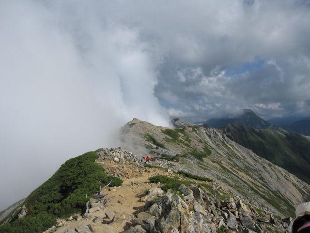 大天井山周辺からの眺望