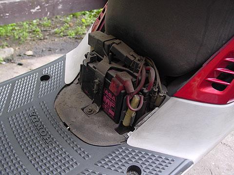 AF16 タクト TACT バッテリー センターカバー