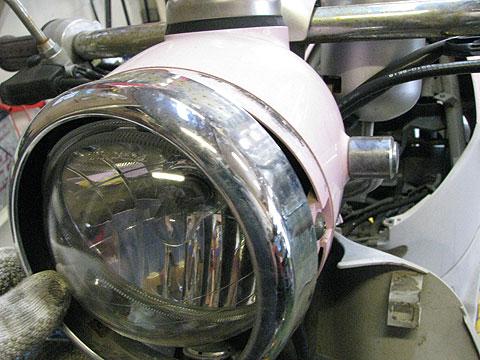 レッツ4パレット ヘッドライト CA43A CA45A