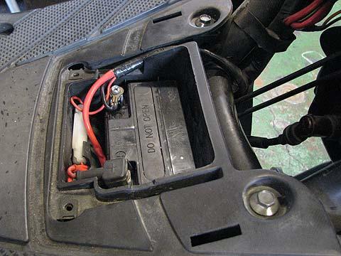 BW'S SA02J バッテリー交換
