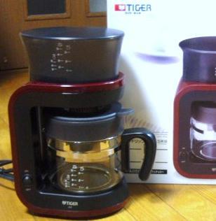 3月30日コーヒーメーカー