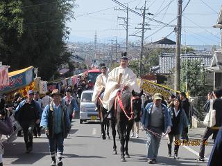 姫の宮のお祭り