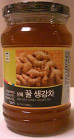 生姜茶蜂蜜