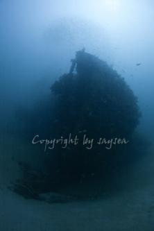 天草ボートダイビングポイント 高浜沈船1