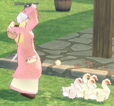 固まりすぎの鶏