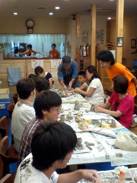 狛犬作り2010-3