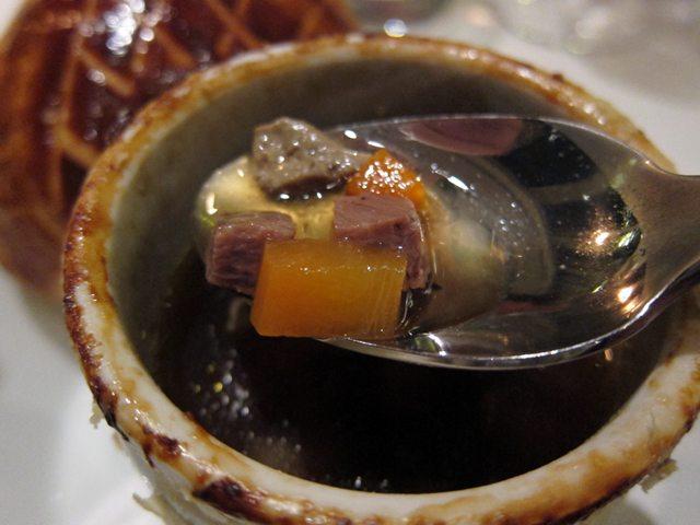 トリュフのスープ2