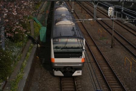 E233系in東中野