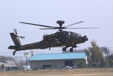 AH-64Dロングボウ。