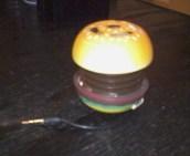 ハンバーガースピーカー