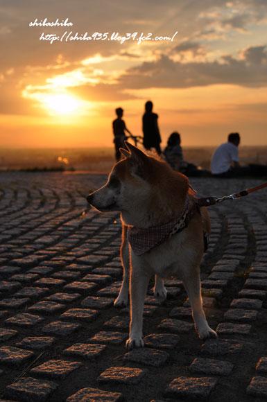 モエレ山 夕陽