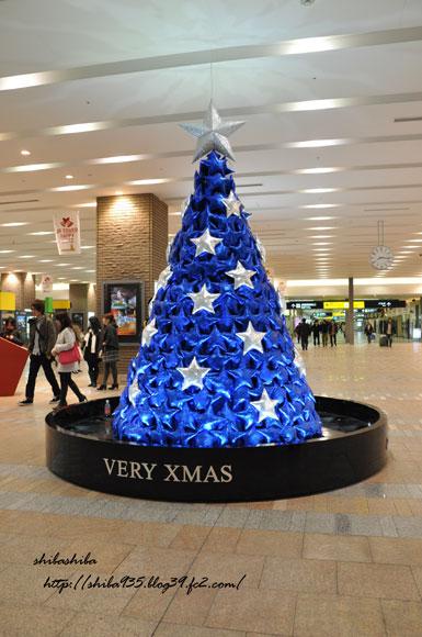 JRタワークリスマスツリー