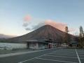 歌ケ浜からの男体山