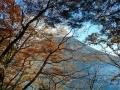 松ヶ崎からの男体山