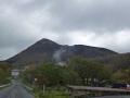 新野地温泉からの鬼面山