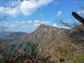 岩稜コースからの男体山