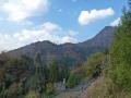 古分屋敷からの男体山