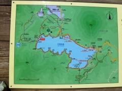 中禅寺一周地図