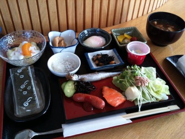 ぺロ浜名湖朝食