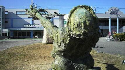 瀬戸市駅モニュメント