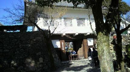 犬山城ゲート