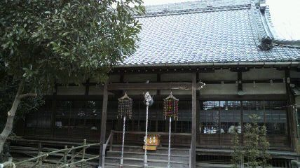 密蔵院本堂