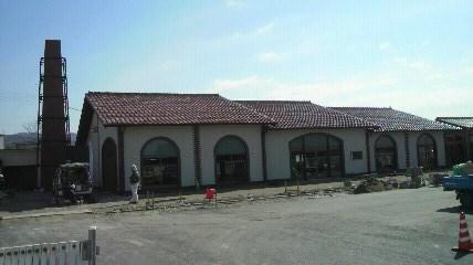 品野道の駅全貌