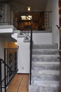 Stairs toward Dining room