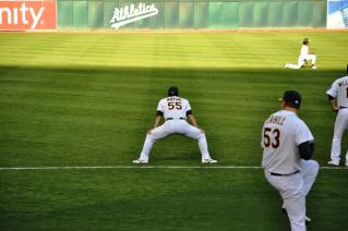 MLB A's vs Rays
