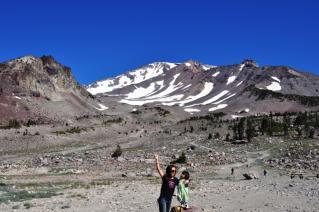 Mt. Shasta 車でいける最高部