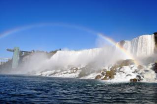 Rainbow on Falls
