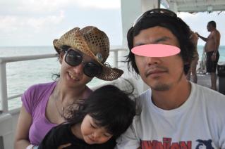 Ferryで沖の島まで