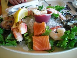 Seafood sumpler