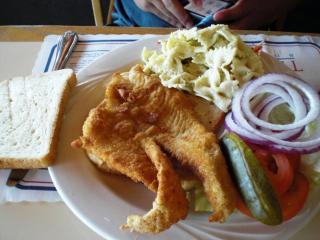 Sole sandwich
