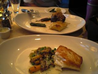Fillet Steak and Halibut