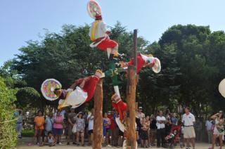 Mayan culture 人間風車