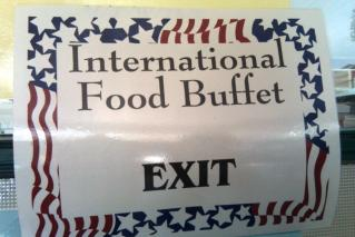 International Food Buffet