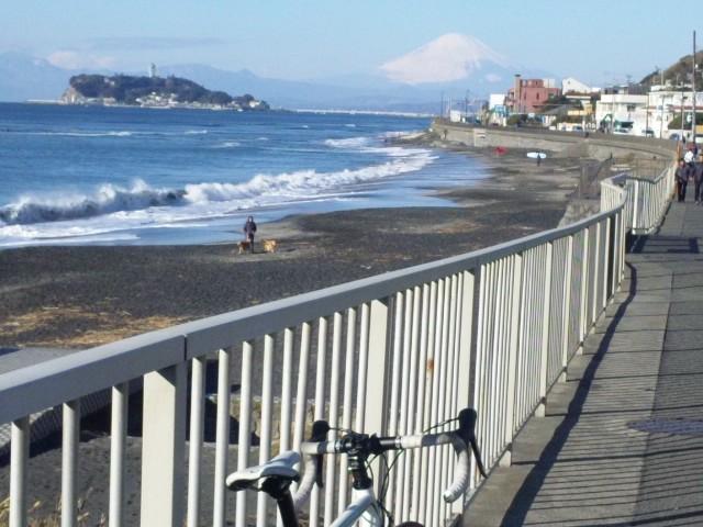 稲村ヶ崎-富士山
