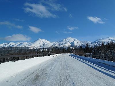 望岳台へ向かう道