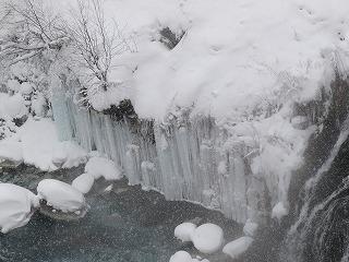 氷のカーテン!?